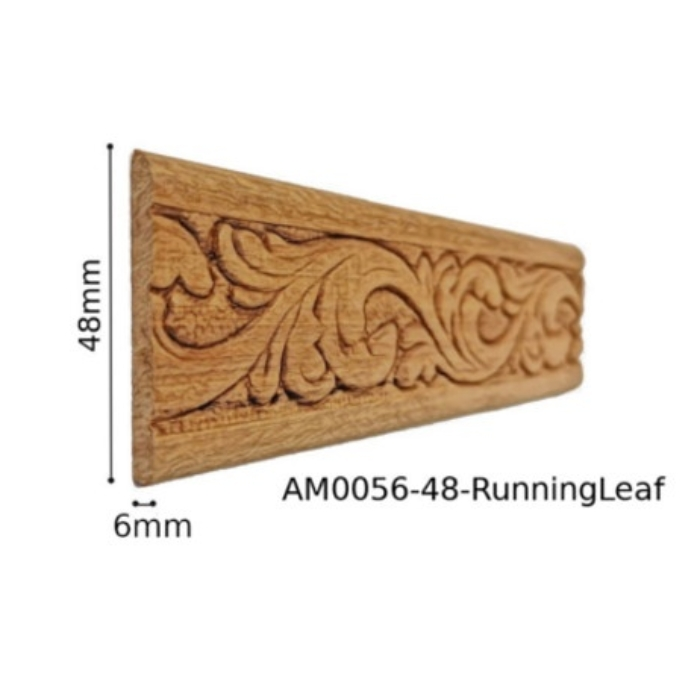 AM0056-48-RunningLeaf (48x6mm)